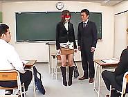 Slim Figured Japanese Milf Adores Having Kinky Sex With Stranger