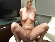 Black Mate With Huge Penis Irrigates Kate England's Vag Aft