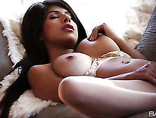 Sumptuous Latina Layla Rose Is Dazzling In Lace Lingerie
