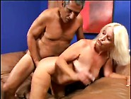 Fat Old Granny Is Lusty For His Big Cock
