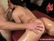 Striking Babe With A Perfect Ass Lola Foxx Enjoys A Great Massag