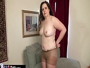 Usawives Busty Charlie Fox Solo Play