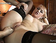 Virginia,  A Blonde Milf With Big Tits And A Spicy Ass,  Gets Her