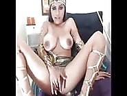 Beautiful Big Tits Egyptian Masturbating