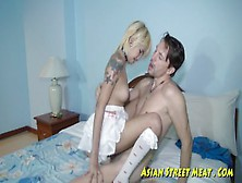Bugger Anal Blond Asian