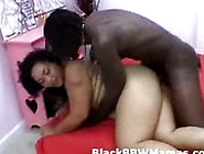 Hot Big Boobs Chubby Ebony Mom Pounded By A Big Black Cock
