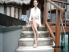 Maldives Teasing Gml Sandals & Floating Skirt C4All. Wmv