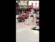 19Yr Old Crazy Chinese Naked Girl On Streets