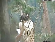 Sexy Asian Girls Go For A Walk In The Woods Nude