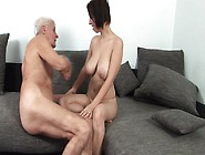A Grandpa Gets It Up And He Fucks A Hot Teen With Some Large Tit