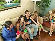 Drunkard Swingers Cock Riding Massive Dick Hardcore In Group Sex