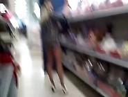 Bottomless Milf Goes Shopping