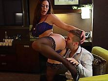 Seducing Horny Mom In Lingerie