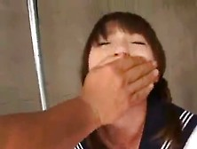 Japanese Scat Whore Forced To Eat Poop