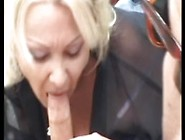 A Pretty And Sweety Granny In Sheer Blouse Have A Handjob A Luck