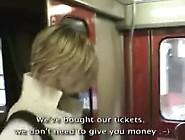 Homemade Ex Girlfriend Sex Tape Cock Sucking In The Train
