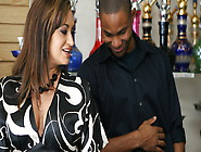 Horny Ebony Boy Loves Milfs Like Claudia Valentine