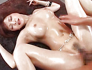 Awesome Japanese With Wet Pussy Gets Rammed Indoors