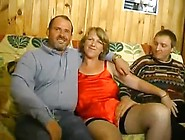 French Bi Dilettante Three-Some Male+Male+Female Tube Cup