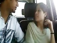 Indian Couple Enjoy Naughty Time In Car
