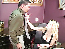 Slutty Tiffany Tanner Fucks Her Employees In The Office