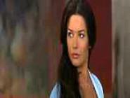 Alluring Catherine Zeta-Jones Reveals Cleavage Peeking From Unde