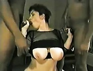 Dirty Wife Takes Two Cocks To Pull For Lunch