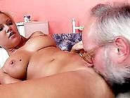Naughty Sunny Diamond Has Wild Sex With Old Guy