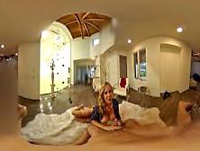 Vr Stereoscopic 360 - Julia Ann Has An Unquenchable Oral Fixatio
