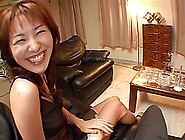 Milf And A Hot Bitch From Japan Pleasuring A Dude's Dick