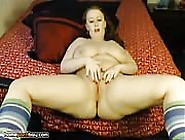 Plump And Juicy Bbw Hardcore Masturbation On Webcam