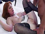 Red Haired Milf In Erotic Stockings,  Freya Fantasia Likes To Spr