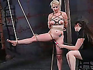 Spoiled Hussy With Well-Matured Tits Gets Punished Like Never Be