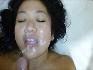 Face Full O' Cum - Asian