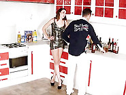 Hot Kitchen Sex Affair With Insatiable Princess Mery