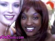 Black Teen Beauties On Cum Compilation