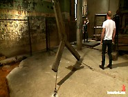 Boundgods : A Bound Gods Member Gets Tied Up Abused And Fucked T