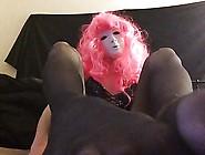 Sissy Avia Feet Joi