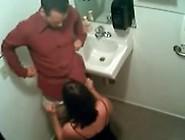 Real Horny Milf Giving Head Blowjob On Hidden Camera In Restaura