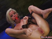 Ballgagged Stranded Teen