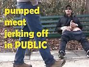 #3-Caught Shooting At Park-Pumped Monster Spunks--Public--