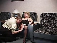 Russian Mature Gets Her Self 2 Russian Studs