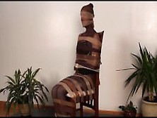 Pantyhose Chair Encasement