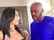 Lex Steele Drives His Fat Cock Up A White Girl's Tight Ass