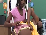 Lesbian Student Spank & Fuck Teacher With A Huge Strap-On