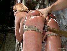 Big Ass Mom, Mellanie Monroe,  Hard Fucked In Bondage Special