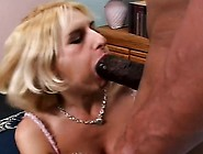 Kinky Blonde With A Sweet Ass And Perky Boobs Fucks A Huge Black