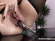 Secretary Gets Wet And Pissy