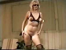 Crazy Homemade Movie With Vintage,  Blonde Scenes