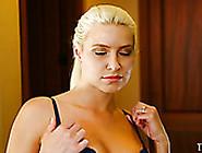 Seductive Blond Tramp Anika Allbrite Sucks Tasty Long Cock